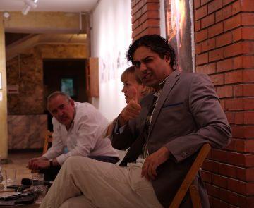 В «ХотАртХолі» відкрили виставку «Метамарфози» художника Макса Сіра