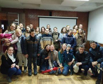 У Палаці відбувся перегляд короткометражок за участі друзів спільноти «Лярш-Ковчег»