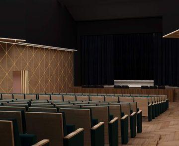 Великий зал — на реставрації